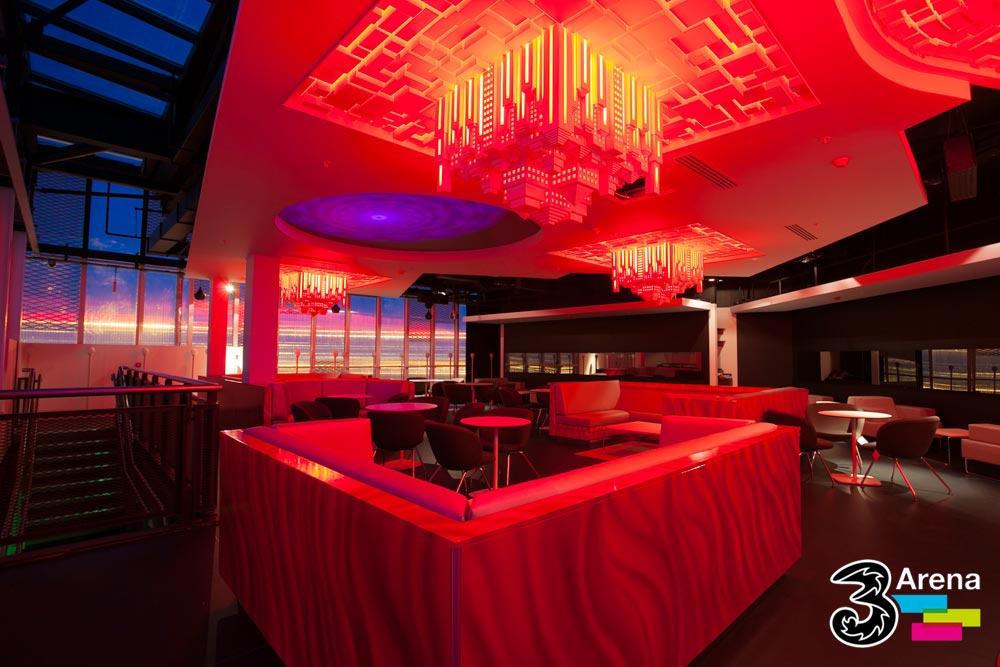 3 Arena VIP Lounge
