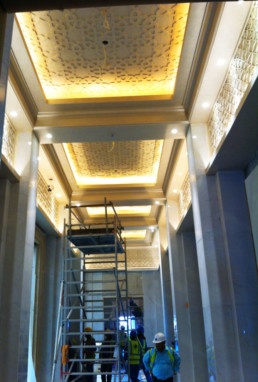 Venetian plaster, specialist paint finishes, decorative painting Middle East