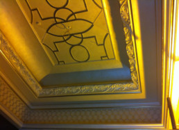 Decorative painting Middle East, gilding Middle East, specialist decorating middle east