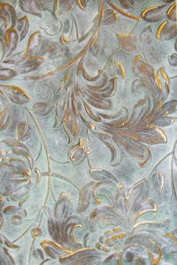 Verdigris, specialist decorating UK, decorative paint effects, paint finishes