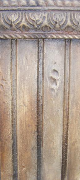 Distressed antique wooden panel, distressed decorative vintage trim, decorators Ireland