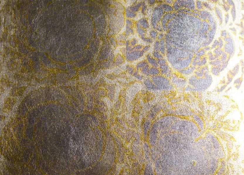 All the bar furniture had to be gilded with this specialist gold leaf as part of the interior design package to the bar and nightclub.