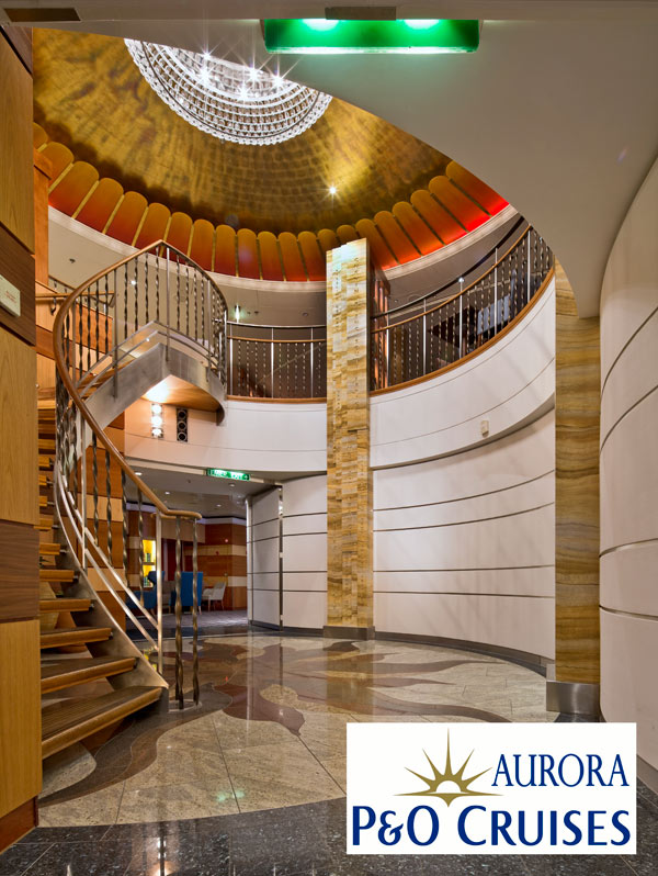 Limestone faux finish carried out by our decorative painters at Devlin In Design for the prestigious cruise ship Aurora.