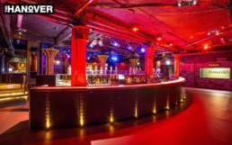 Nightclub design, specialist decorators, decorative paint finishes, gilding, artisans