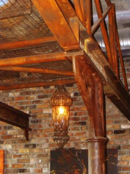 Faux rust, rusted beams, specialist decorators UK, decorative painting Ireland
