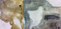 Distressed plaster wall, hand painted wall, decorative painting, specialist decorating