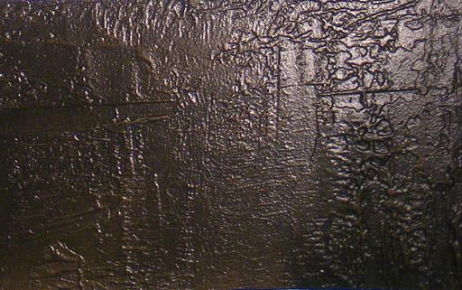 Bronze metal finish for hotel interior walls.