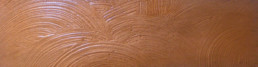 Hammered copper finish, decorative painters Abu Dhabi, copper faux finish