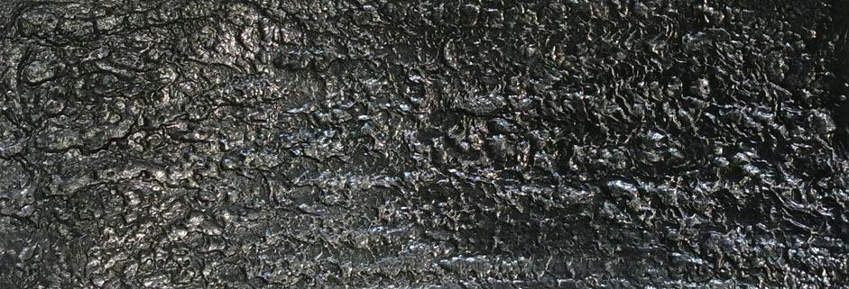 Distressed steel walls