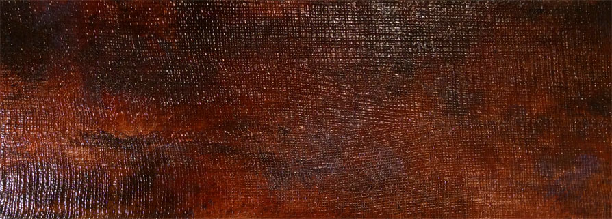 Copper patina and textured copper