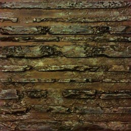 Aged plaster wall, distressed plaster wall, metallic walls, specialist decorators.