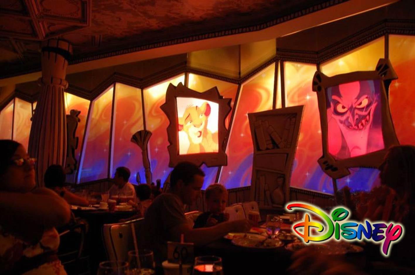 Restoration to the Disney restaurant onboard the Disney Wonder cruise ship.