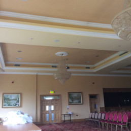 Hotel design, venetian plaster, polished plaster, stucco Ireland, gilding Ireland ō