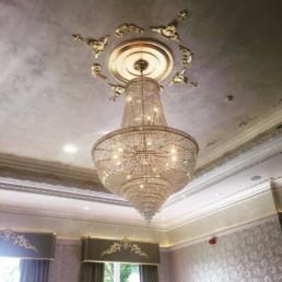 Gold leaf moulds, hotel ceilings, polished plaster, venetian plaster Ireland.