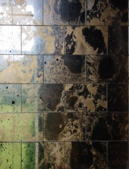Antique mirror wall tiles uk, distressed mirror tiles, vintage mirror