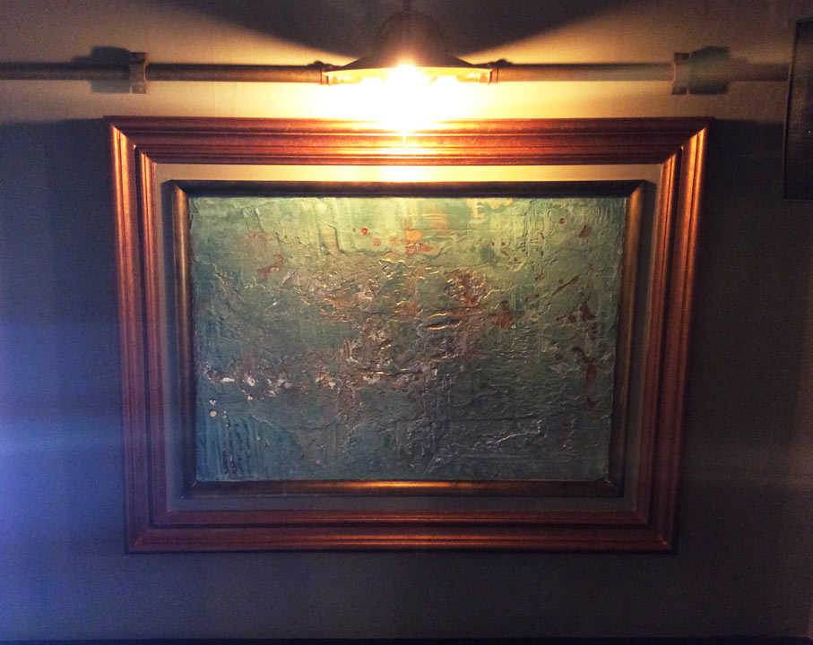 Antique copper and brass framed artwork supplied to the restaurant industry.