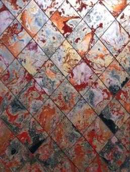 Marbled antique mirror glass U.K, distressed mirror wall panels U.K