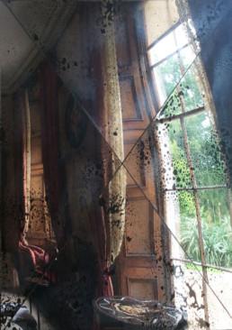 Distressed antique mirror tiles U.K, antique mirror glass U.K