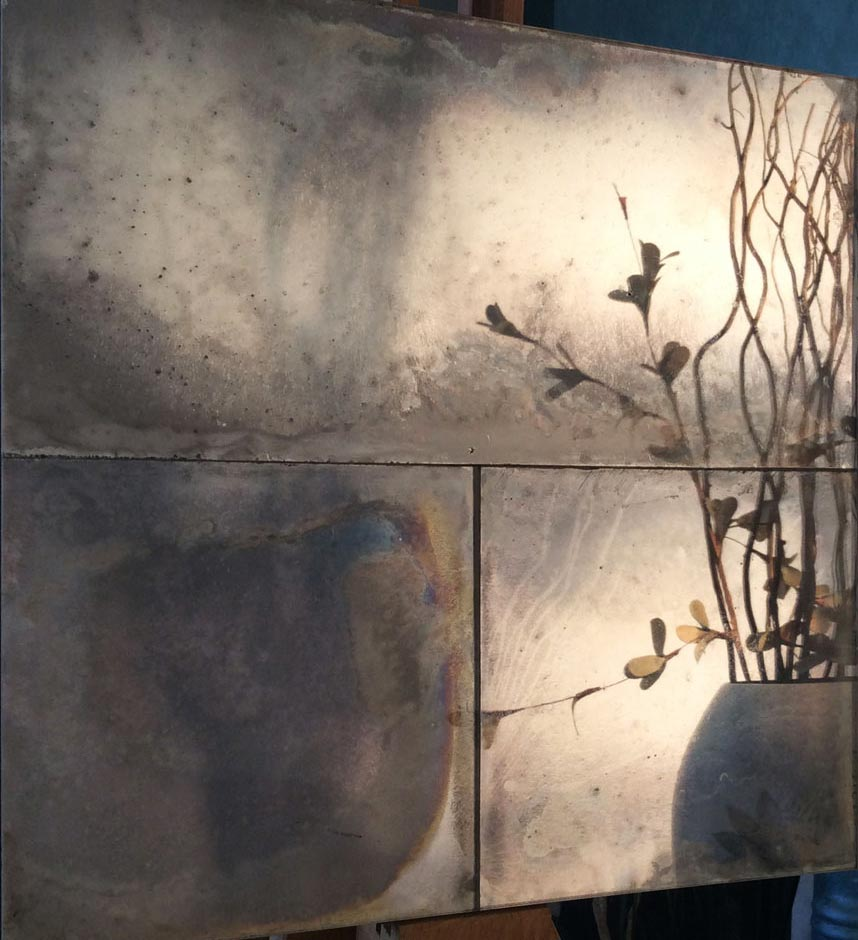 Antique mirror glass wall panels created for various feature wall in hotels, bars, restaurants and super yachts. fm12