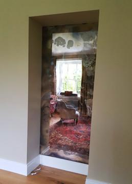 Antique mirror U.K, vintage mirror suppliers Northern Ireland, aged mirror