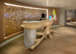 Cruise ship installation, cruise ship artwork, bespoke furniture, bespoke tables